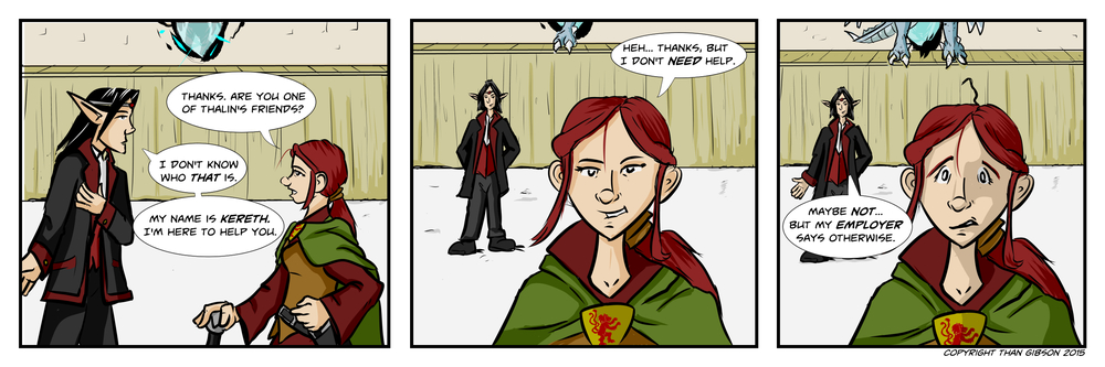 A Chronicle of Thieves - Chapter 2, Strip 21