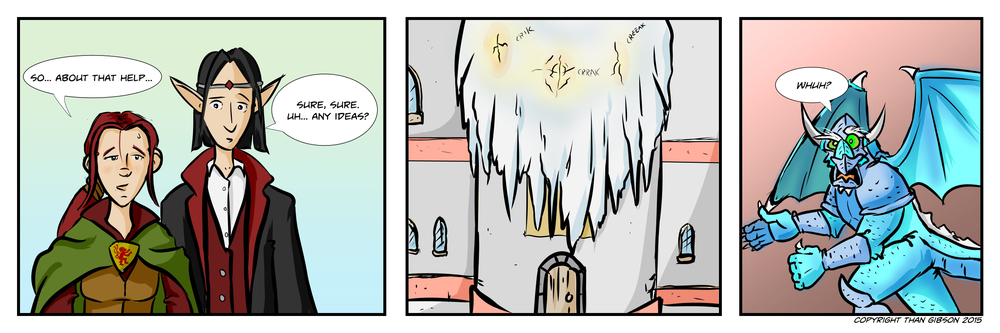 A Chronicle of Thieves -Chapter 2, Strip 23
