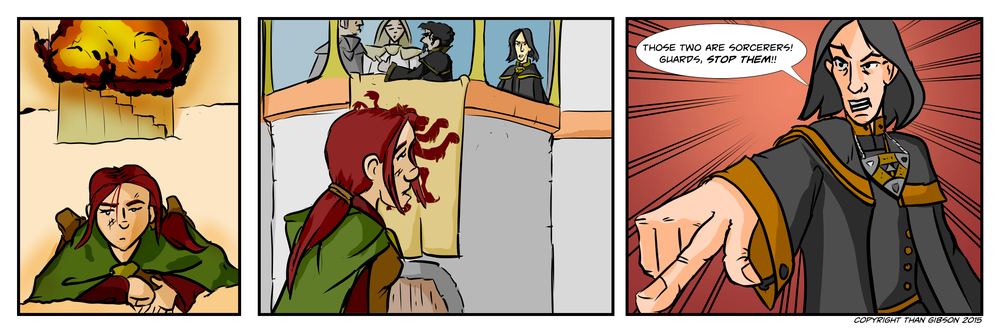 CHRONICLE: A CHRONICLE OF THIEVES - CHAPTER 2, STRIP 25
