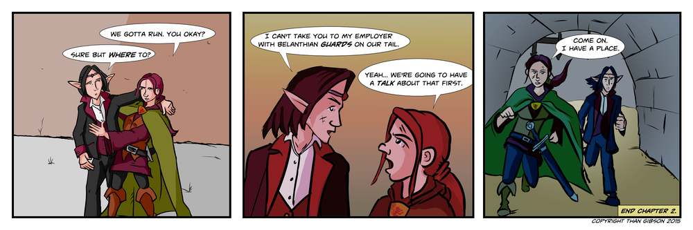 CHRONICLE: A CHRONICLE OF THIEVES - CHAPTER 2, STRIP 26