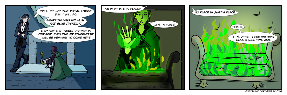 CHRONICLE: A CHRONICLE OF THIEVES - CHAPTER 3, STRIP 1