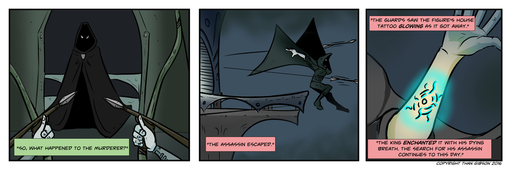 CHRONICLE: A CHRONICLE OF THIEVES - CHAPTER 3, STRIP 12