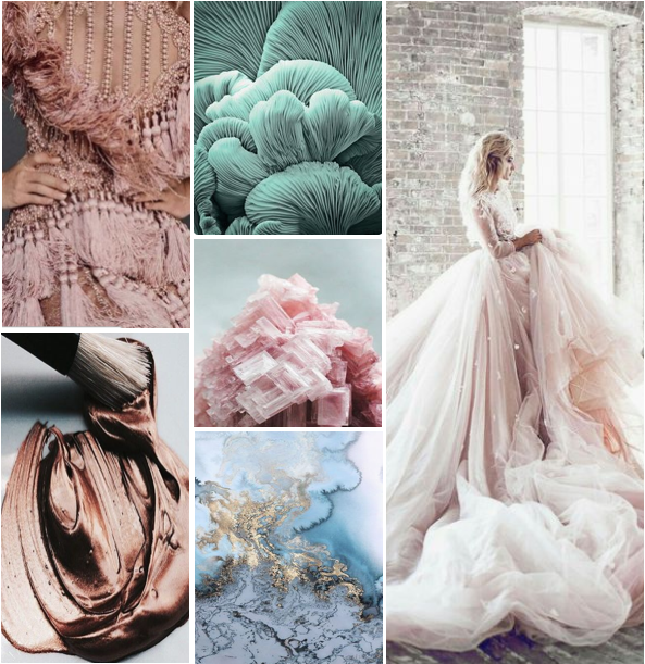chantal events inspiration design board | metallic gem fairytale wedding