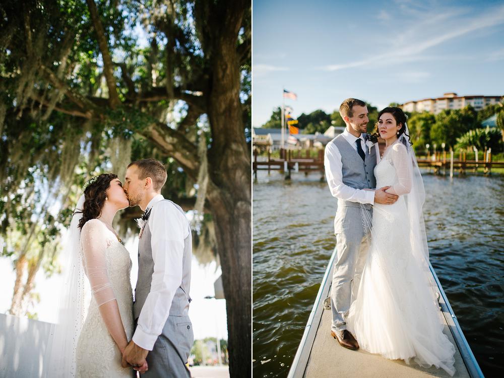wedding photos summer florida bride and groom water .jpg