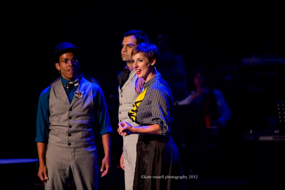 "Helen in ""Love and Emma Goldman: A Rock Opera"""