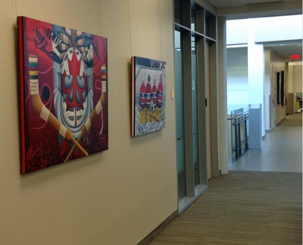 Inside Colart Collection head offices.