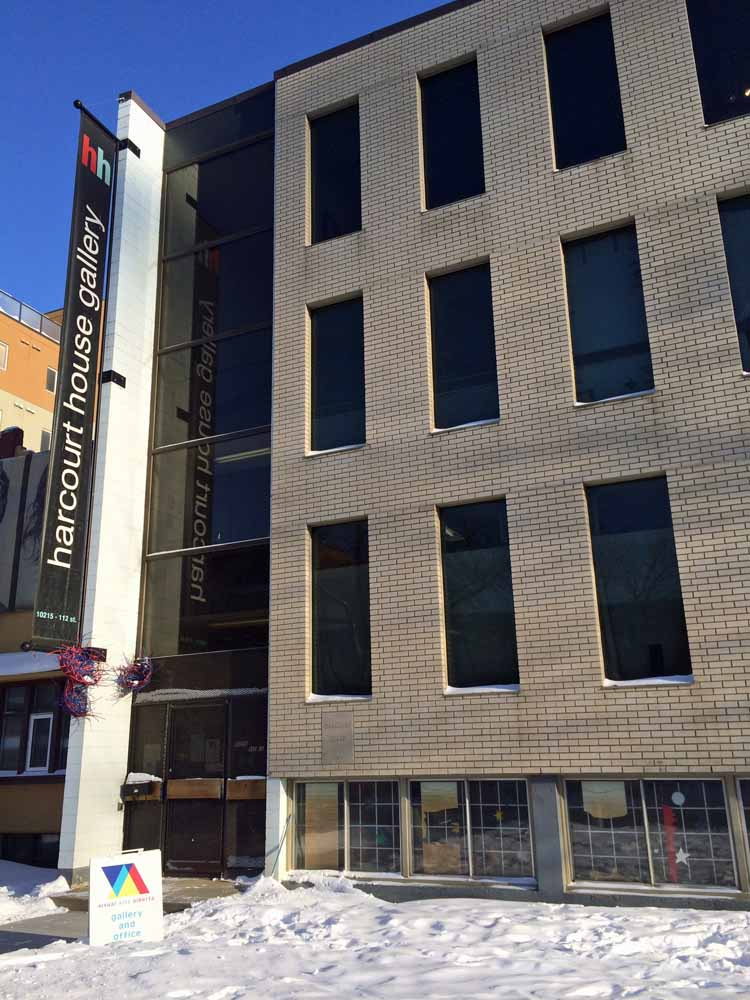 Visual Arts Alberta Gallery @ Harcourt House Arts Centre - Edmonton, AB CANADA