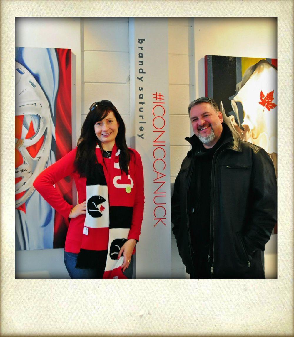 #ICONICCANUCK opening 2013, Edmonton, AB CANADA