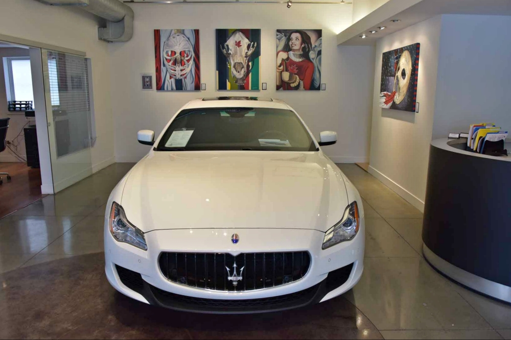 #ICONICCANUCK @ The Showroom - Maserati Quattroporte Q4 - October 2014