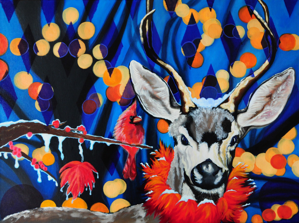 7. Harlequin Deer  by Brandy Saturley