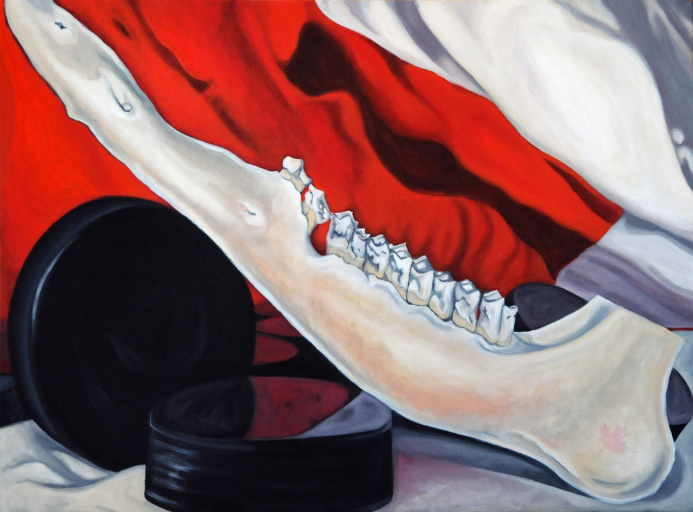 10. Rubber & Bone (Canadian Still Life)  by Brandy Saturley