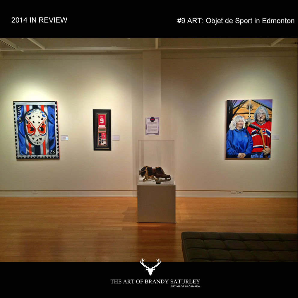 #9 - Art: Objet De Sport - exhibition for the Canada 55+ Games in Sherwood Park, Alberta - Gallery @501