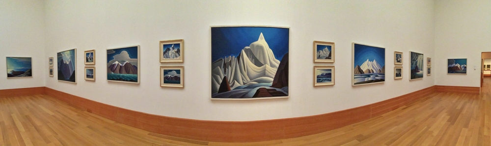Lawren Harris landscapes at the Art Gallery of Ontario - Group of Seven/ Thomson Collection
