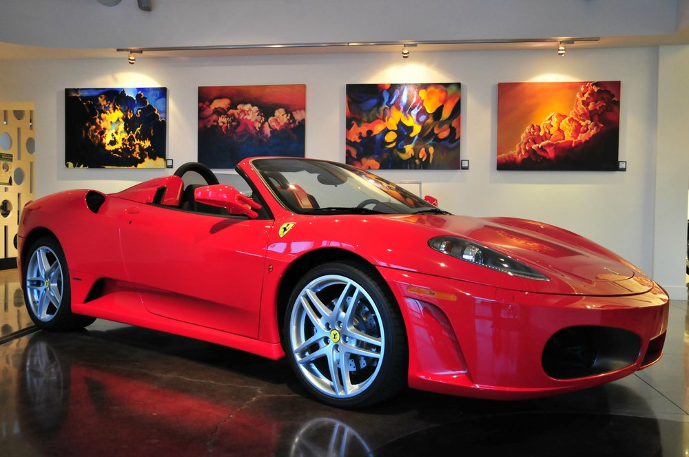 Automobile: Ferrari F450 Art: The Art of Brandy Saturley