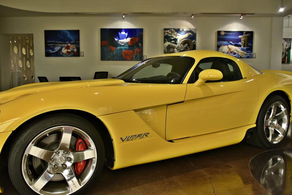 Automobile: Dodge Viper SRT10 2010 Art: #ICONICCANUCK by Brandy Saturley