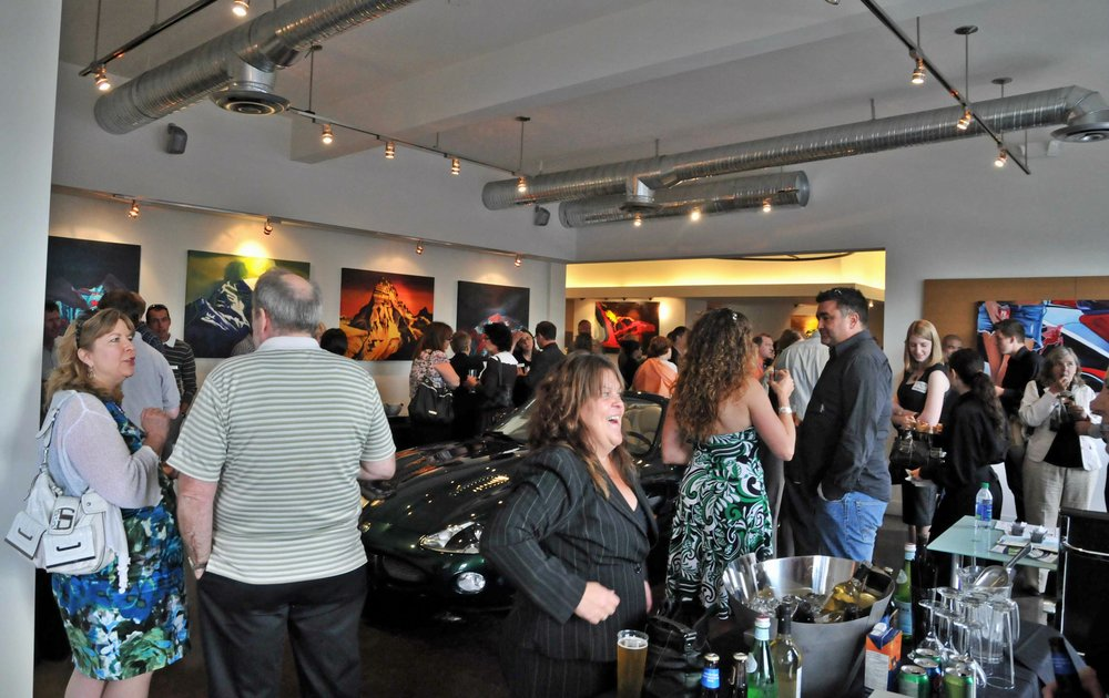 Opening at The Showroom in Victoria, BC 2011 - The Art of Brandy Saturley