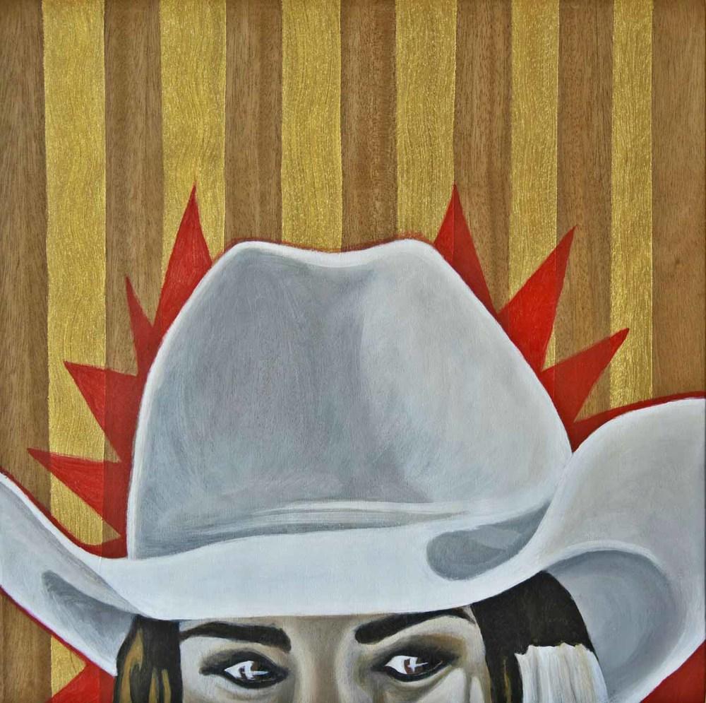 White Hat Stare