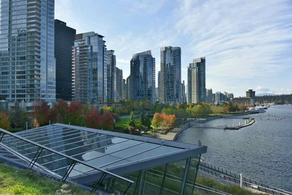 Living Rooftop - Cactus Club Cafe, Coal Harbour,Vancouver BC