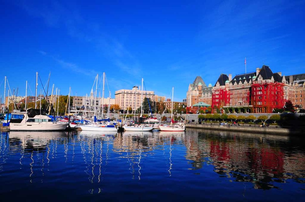 The Victoria BC inner Harbour - photo by Brandy Saturley
