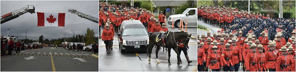 Regimental Funeral for Constable Sarah Beckett RCMP - photos by Brandy Saturley