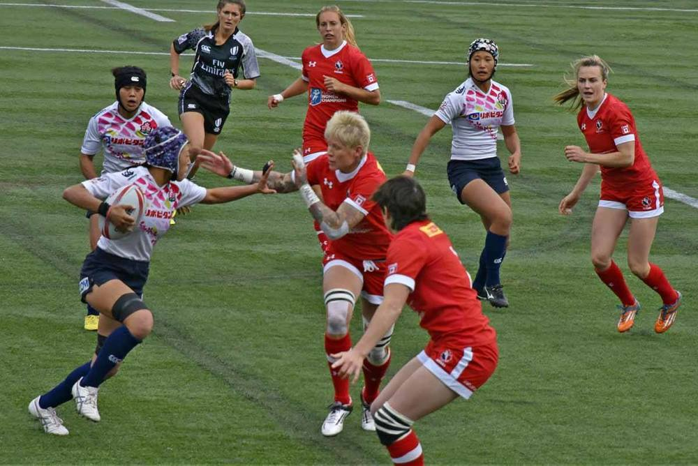 Rugby Women's Sevens Tournament - Canada vs. Japan - Brandy Saturley