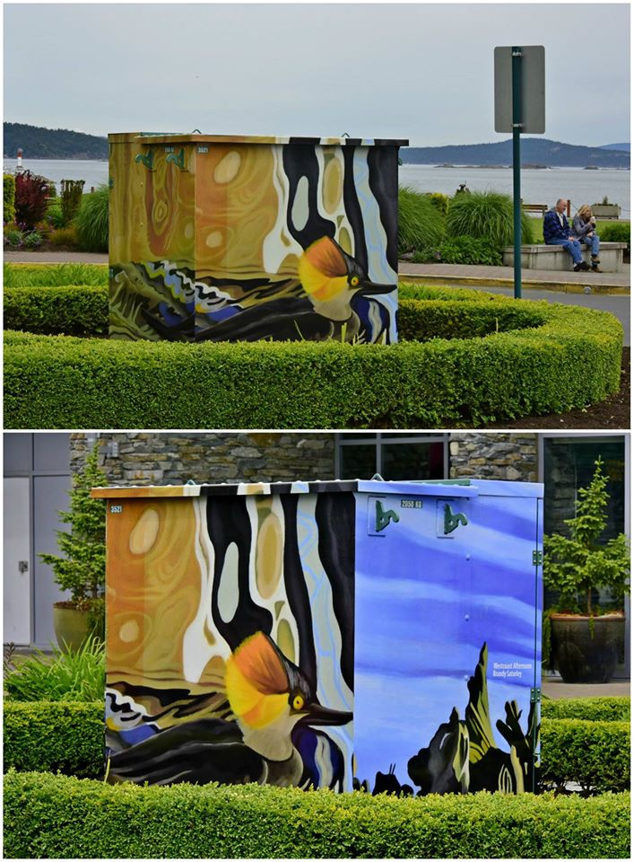 Public Art in Sidney - Westcoast Afternoon by Brandy Saturley