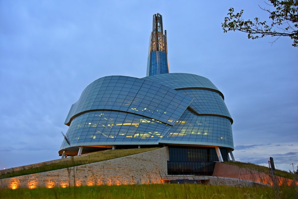Canadian Museum of Human Rights in Winnipeg Manitoba - photo Brandy Saturley