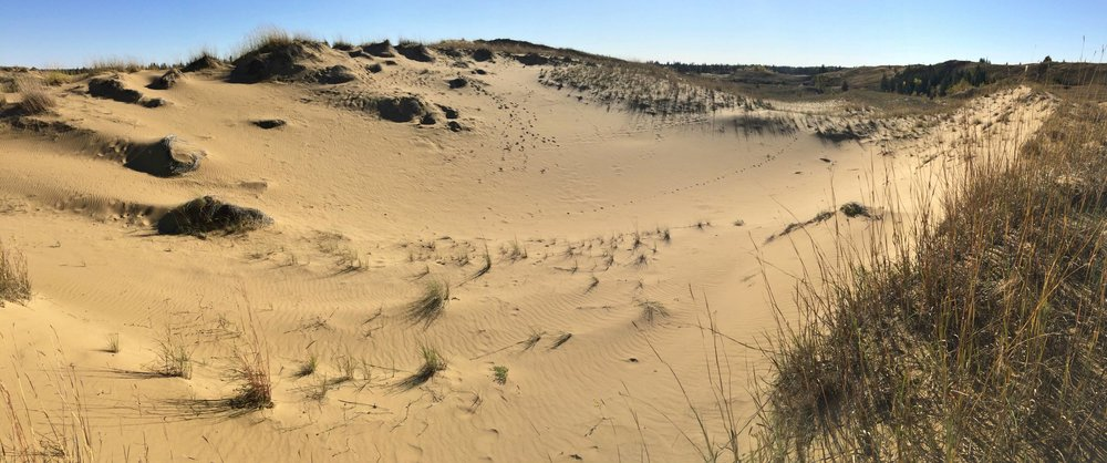 Spirit Sands Dunes in Manitoba | Photo Brandy Saturley