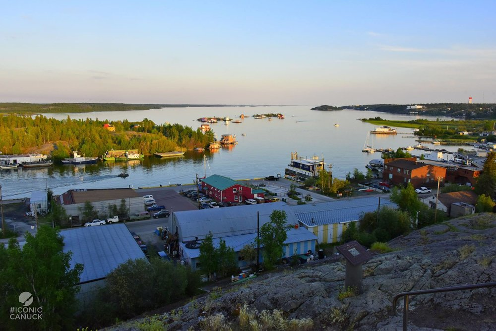 Yellowknife Bay on Great Slave Lake | photo Brandy Saturley