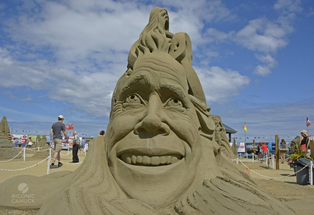 Parksville Sand Sculpting Competition 2016 | photo Brandy Saturley