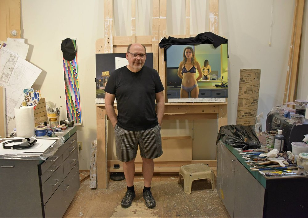 Andrew Valko in his studio | photo Brandy Saturley, 2016
