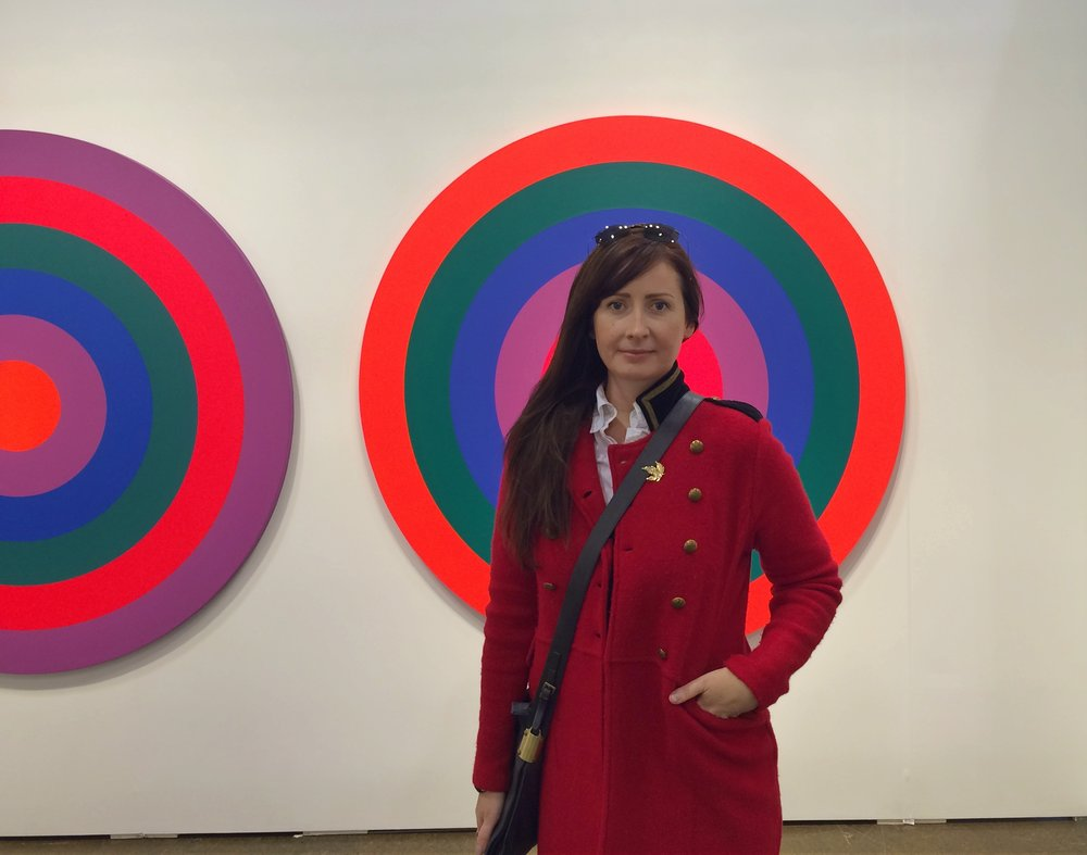 Brandy Saturley - On target at  Art Toronto 2016