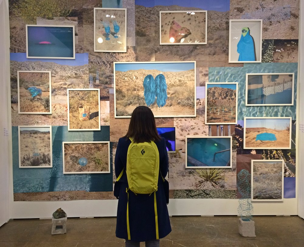 Back Gallery Project booth at Art Toronto 2016