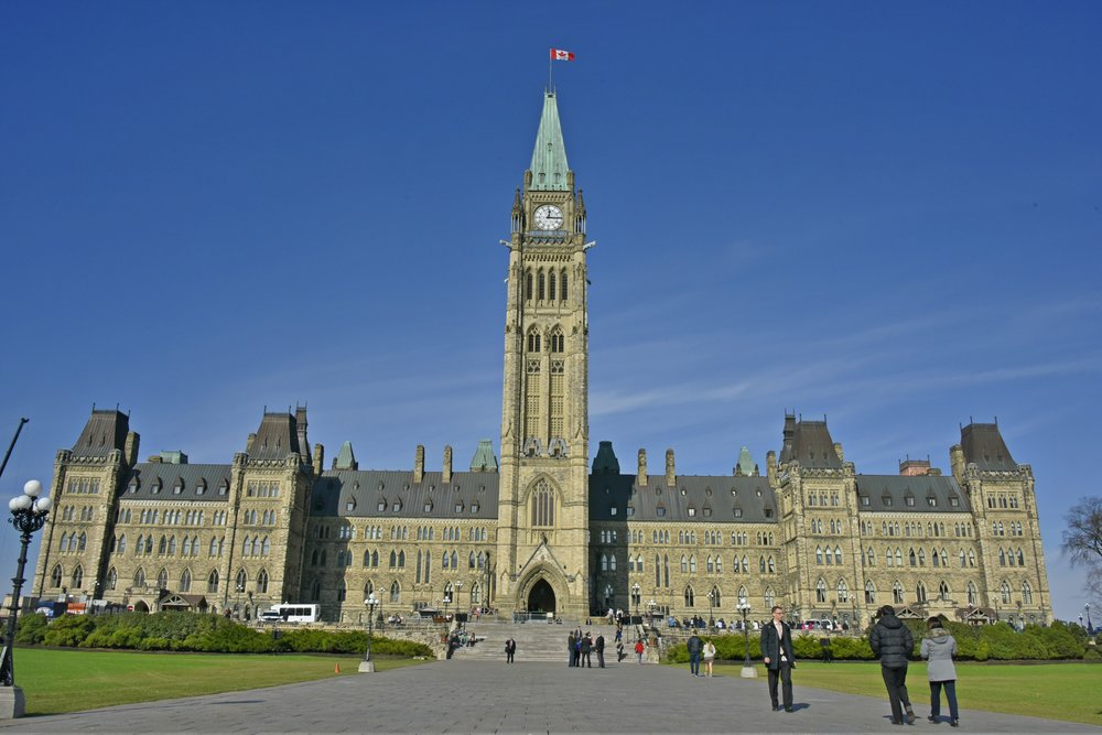 Parliament Hill in Ottawa Canada - Canada's Capital city