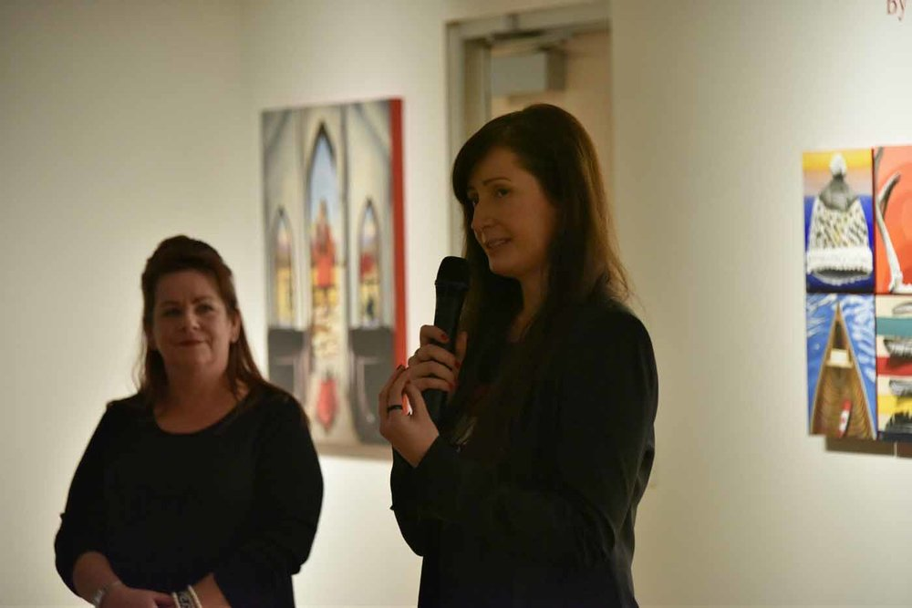 Artist Talk by Brandy Saturley - Strathcona County Art Gallery @501