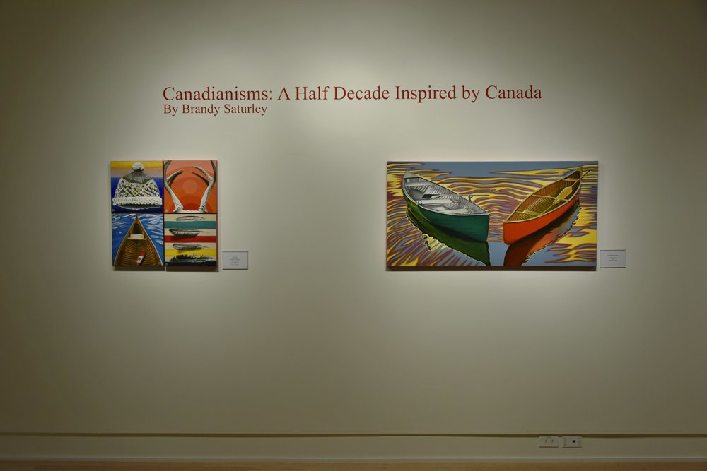 CANADIANISMS: A Half Decade Inspired by Canada - January 2017 Strathcona County Gallery @501 in Sherwood Park, Alberta