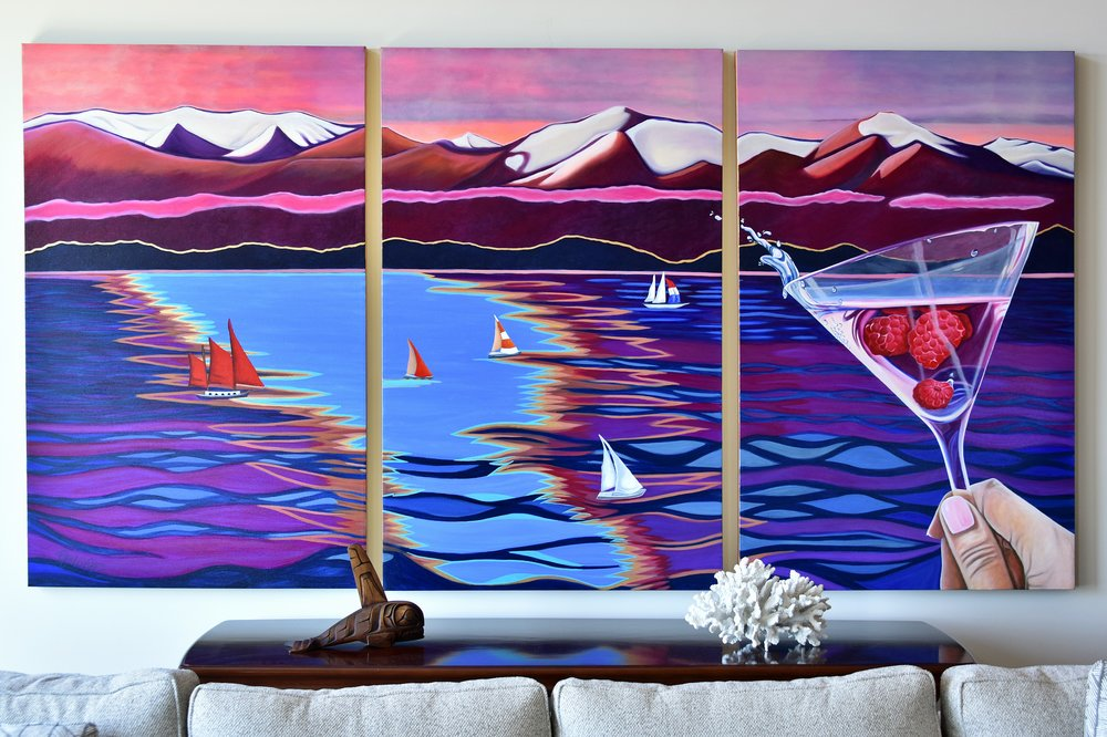 commissioned art Victoria BC