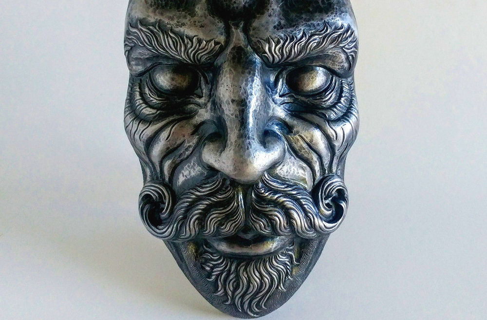 A 12ga steel face I finished in the fall of 2018.