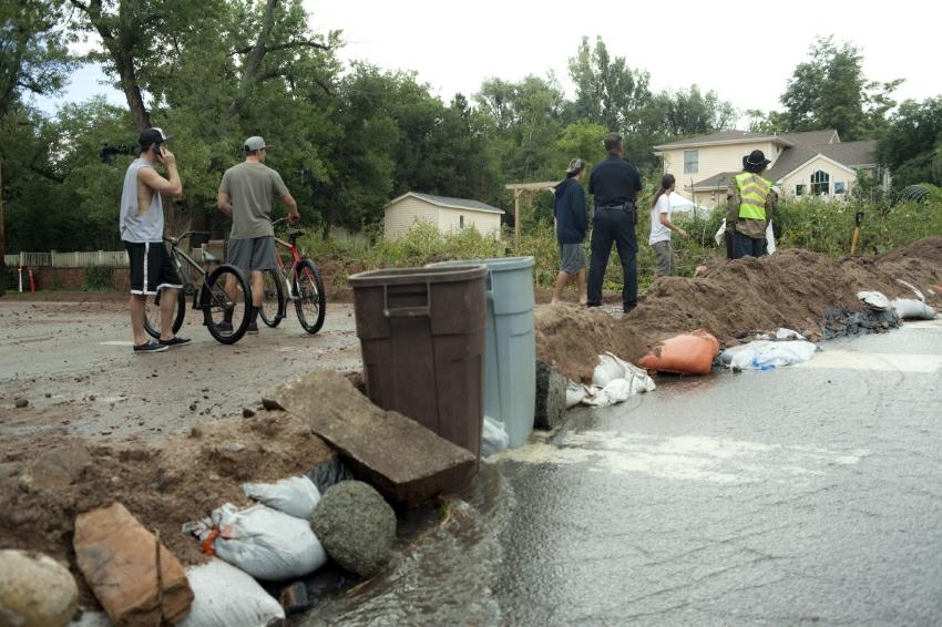 Boulder deluge