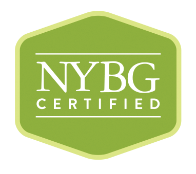 I am certified with the New York Botanical Garden.  nybg.org