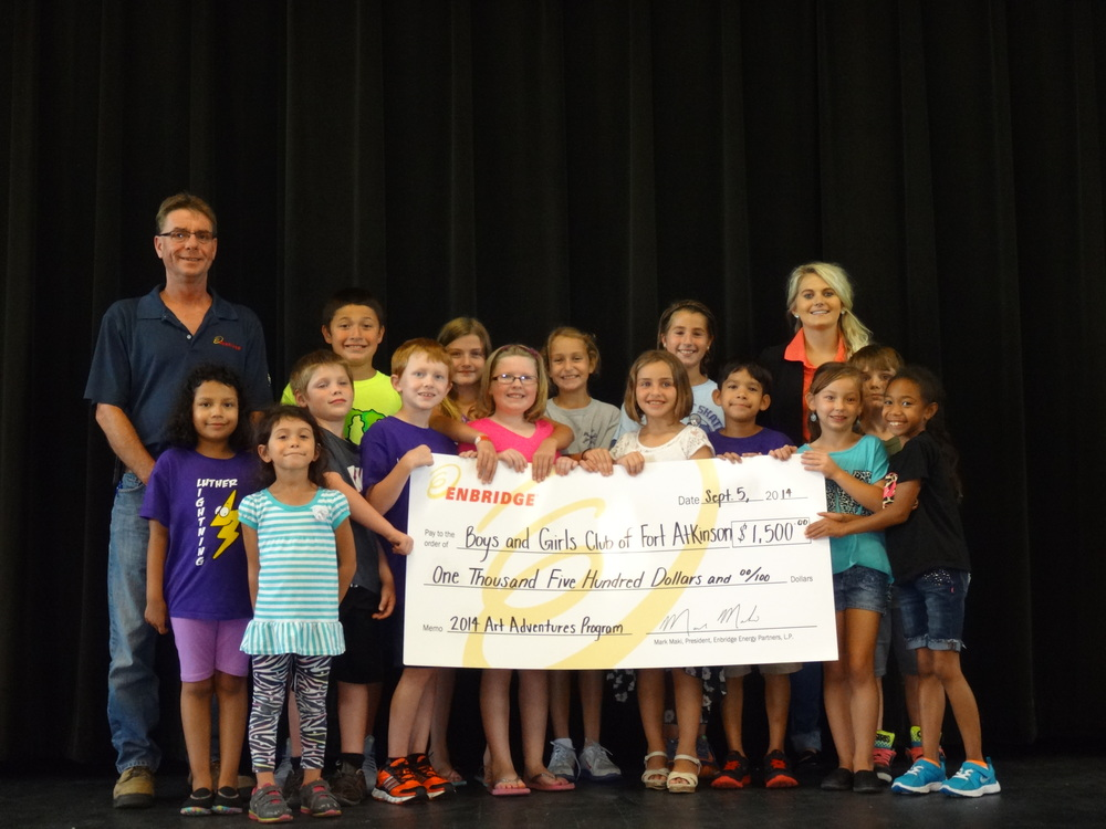 Enbridge Art Program Grant: $1,500
