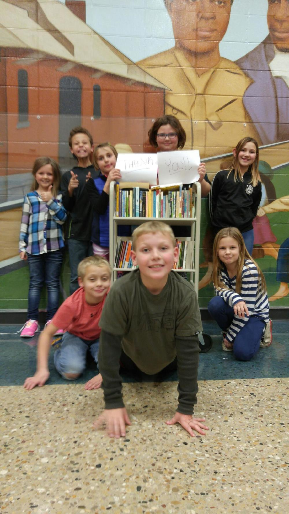 DEMCO donates book cart to Barrie Site