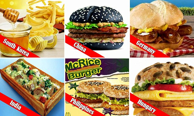 LOOK AT THE DIFFERENT TYPES OF SANDWHICHES ACROSS THE WORLD! hOW DO THEY COMPARE TO YOUR FAVORITE BURGER OR SANDWHICH?