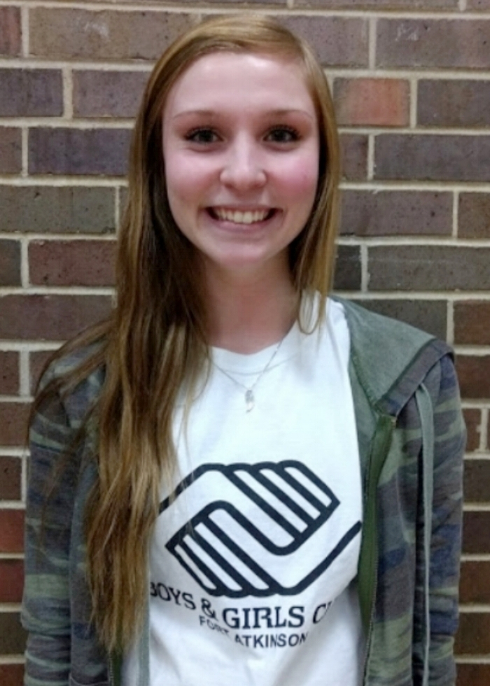 Name: Miss Rachel  Major: High School  Year in school: Senior  Site: Barrie  How long have you worked at BGC: 2016-2017 school year, 2017 summer program, 2017-2018 school year  Hobbies: Hanging out with family and friends  Favorite thing about BGC: The kids!  Something interesting about yourself: I have a baby pig named Fifi  Favorite food: Donuts and mac & cheese