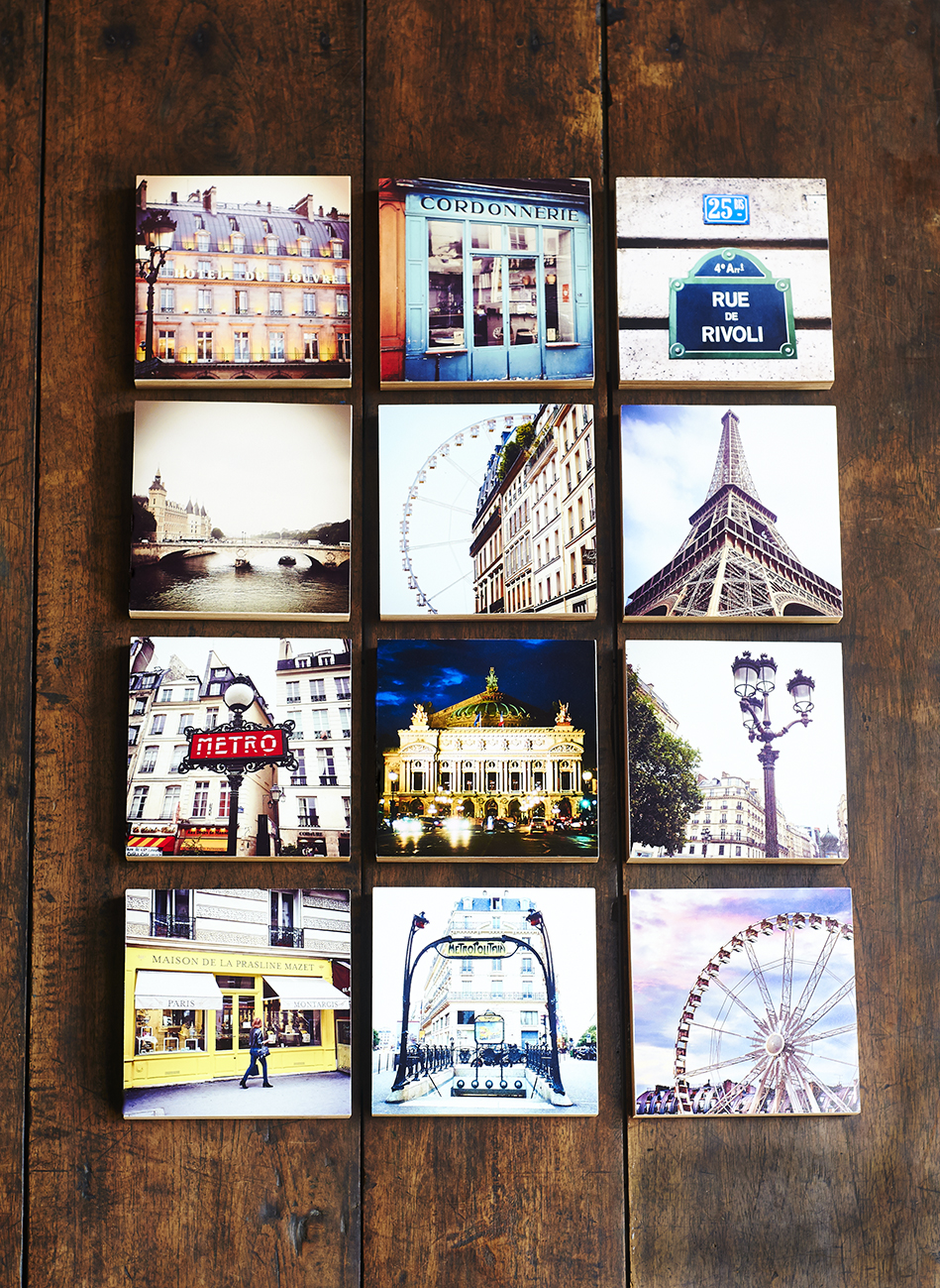 "5x5"" blocks collection Paris"