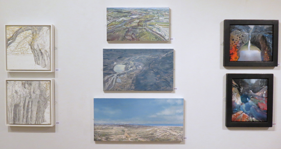 A new look at landscape painting and trees by three woman artists