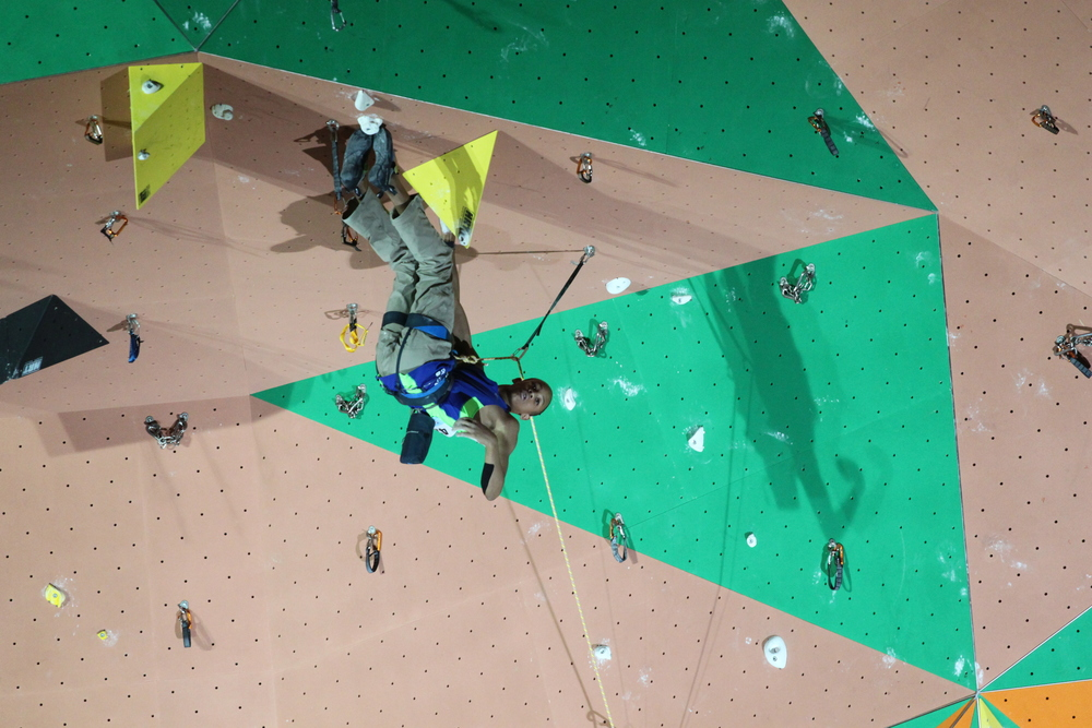 Qualifier 1 Route(Photo by Clarissa Marcoux )