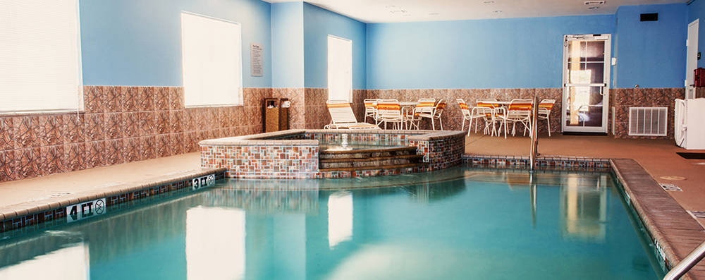 Take a dip in our pool in Three Rivers!