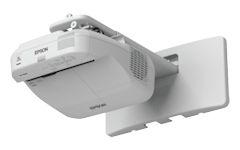 EB-580   - Ultra-curta distância - XGA - 3200 ansi-lumens   - Som: 16W   - Duração lâmpada: até 10.000 horas   - Projetor sem fios: iProjection    BROCHURA