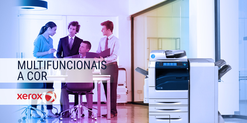 Multifuncionais a cor Xerox
